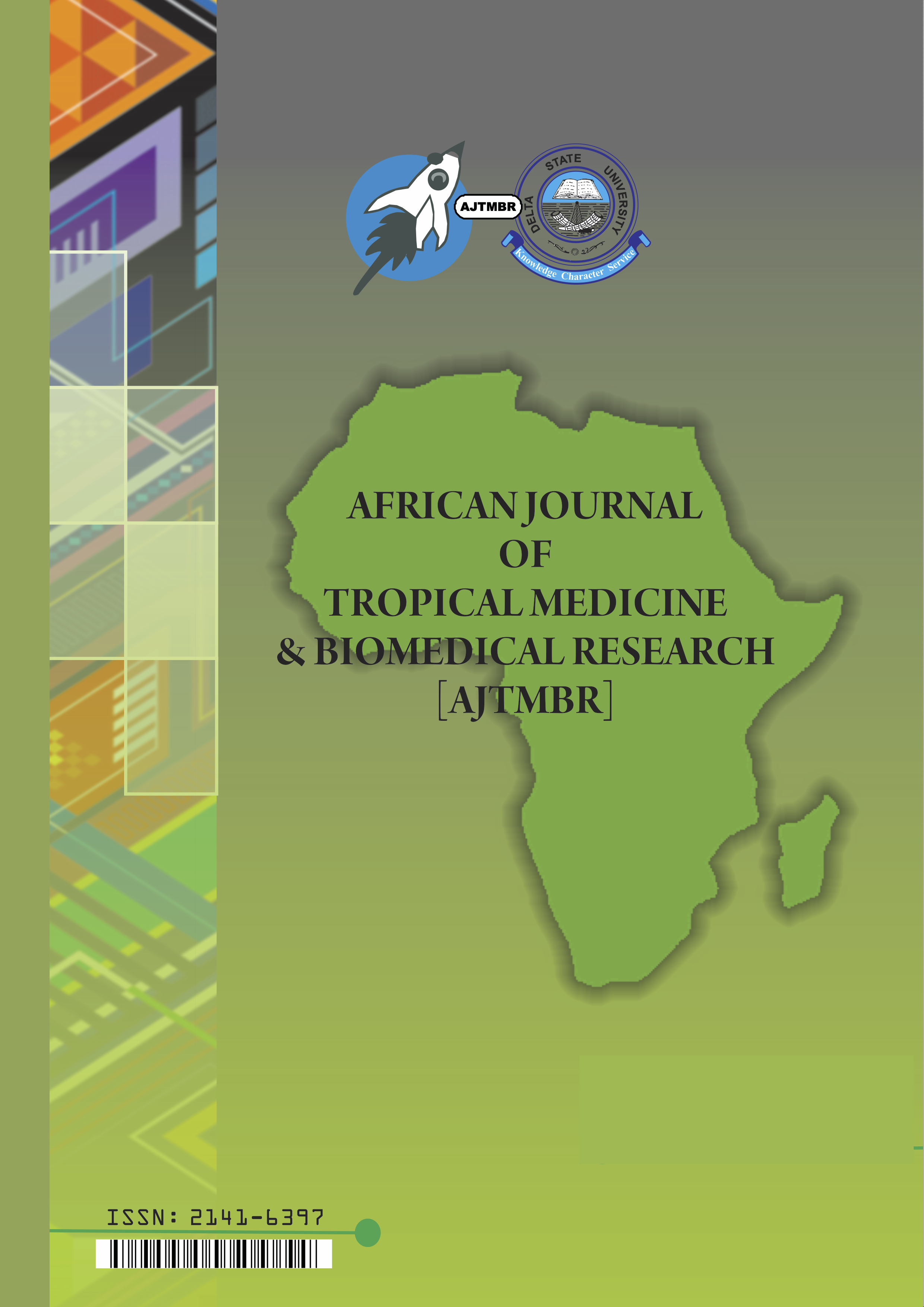 View Vol. 2 No. 1: African Journal of Tropical Medicine and Biomedical Research; March, 2013